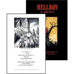 Hellboy Omnibus 3. (limitált, dedikált)
