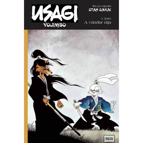 Usagi Yojimbo 3. - A vándor újta
