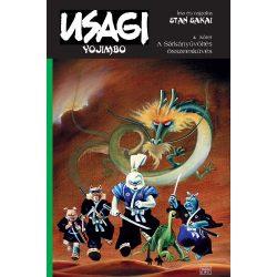Usagi Yojimbo 4. - A sárkányüvöltés összeesküvés - (szépséghibás példány, nem új!)