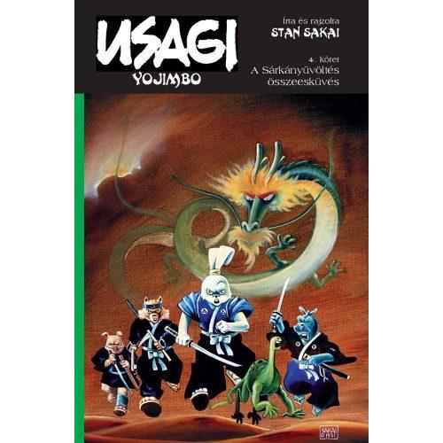 Usagi Yojimbo 4. - A sárkányüvöltés összeesküvés - SZÉPSÉGHIBÁS PÉLDÁNY!