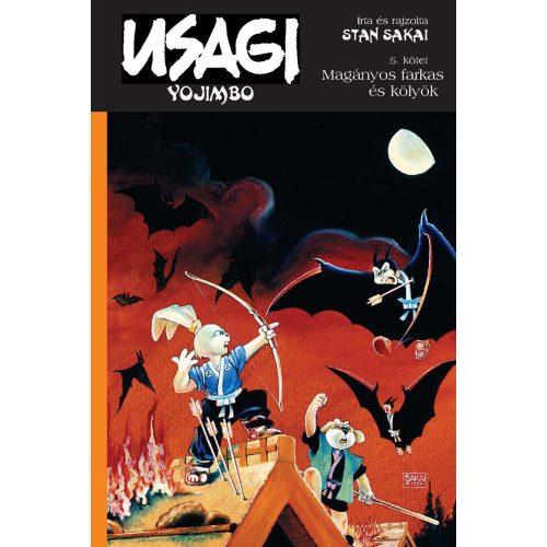Usagi Yojimbo 5. - Magányos kecske és kölyök - (szépséghibás példány, nem új!)