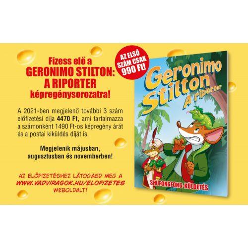 Geronimo Stilton - A riporter 2-4. rész - ELŐFIZETÉS