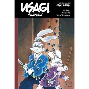 Usagi Yojimbo 18. - Utazás Dzsótaróval - rajzosan aláírt